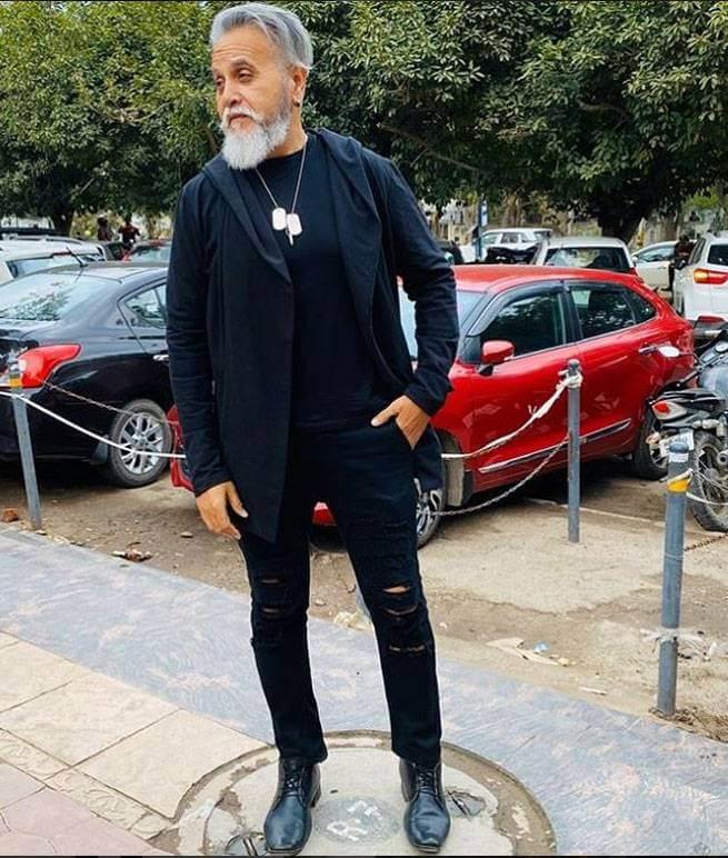 61 yrs old model dinesh