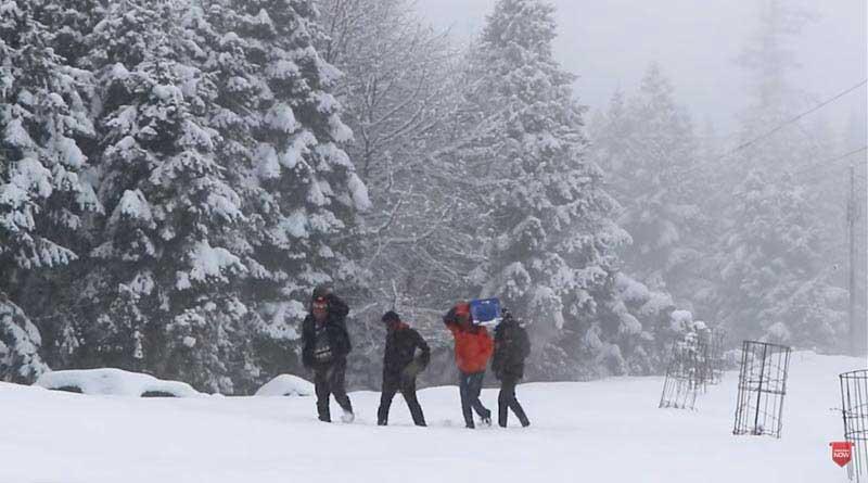 Snowfall in 2020 shimla
