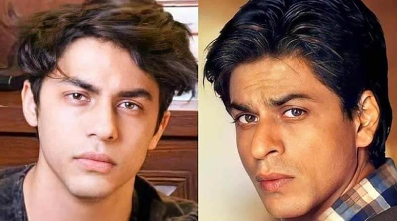 Shahrukh and Aryan Khan
